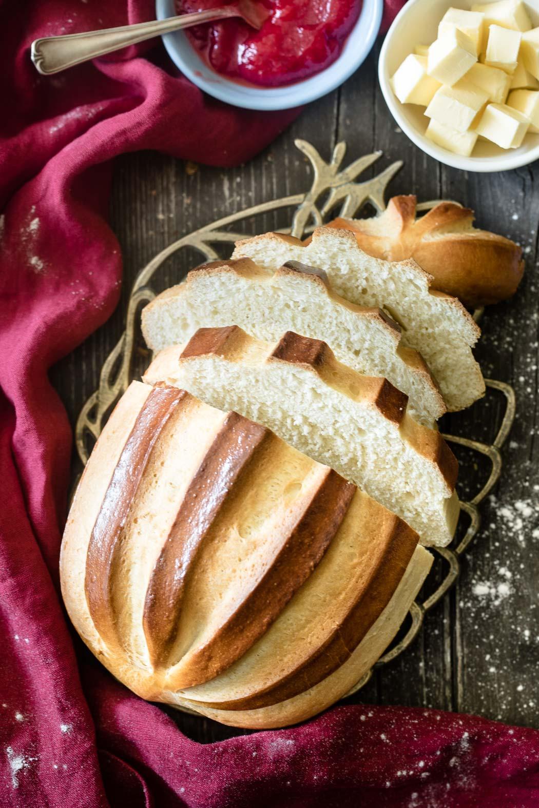 Das Pain Brié ist eine feine französische Brotspezialität